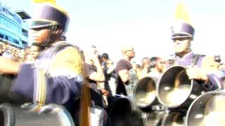 "The Blue and Gold Marching Machine- Drumline 2 ""A New Beat"" Cast"