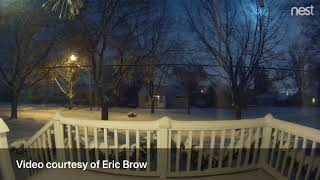 Watch Michigan meteor shoot across sky on Flint's west side thumbnail
