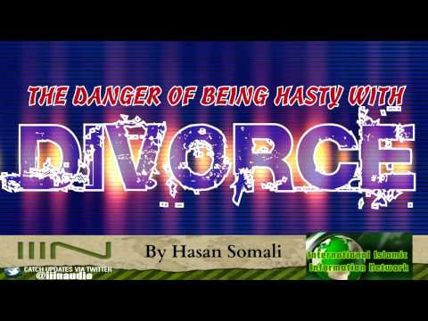 The Danger Of Being Hasty With Divorce