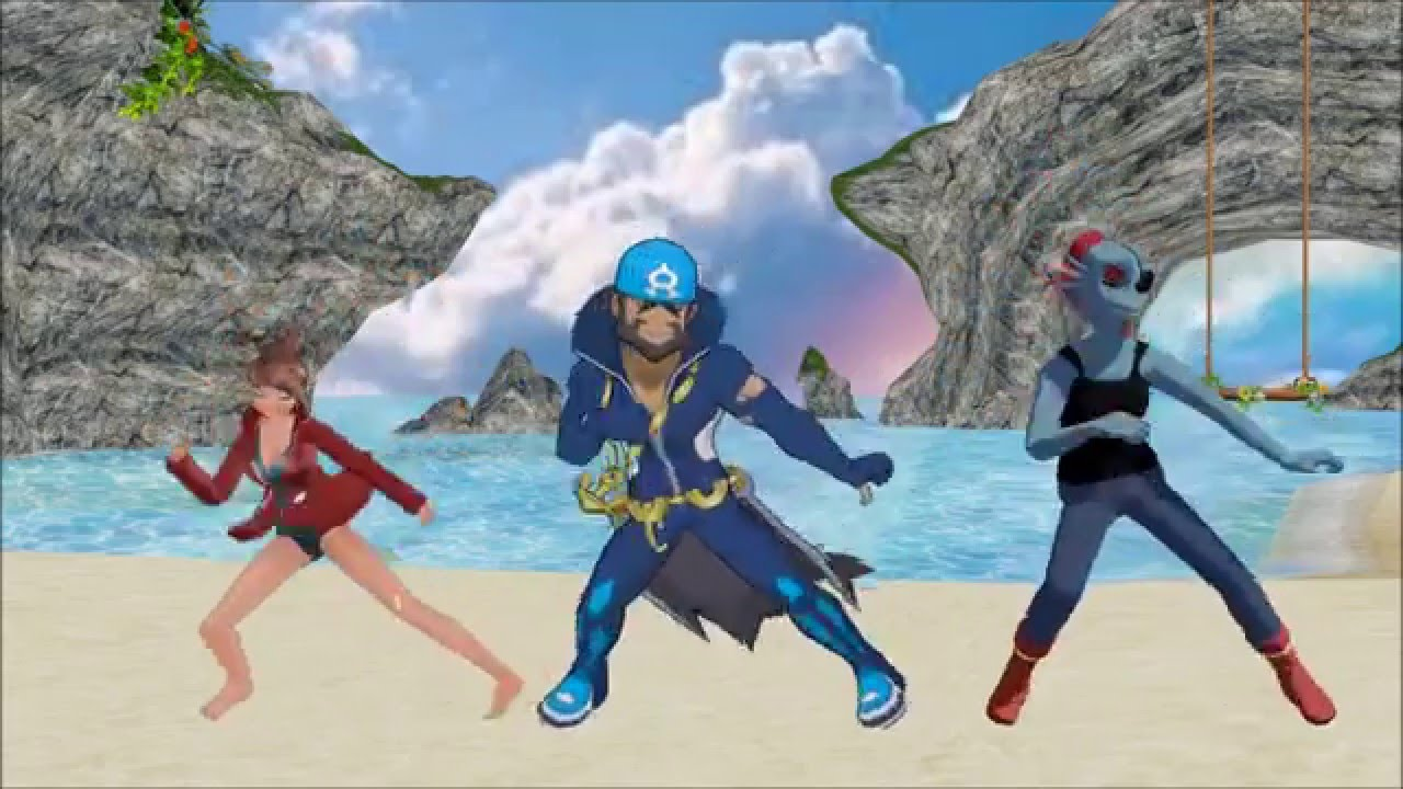 Pokemon x Undertale x Danganronpa {MMD} Splash Free! - YouTube