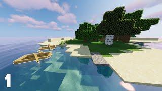 Minecraft Hardcore Survival Island | Barely Surviving | Part 1