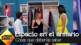 Cinco trucos infalibles para tener el armario siempre ordenado, por Marta Hazas - El Hormiguero 3.0