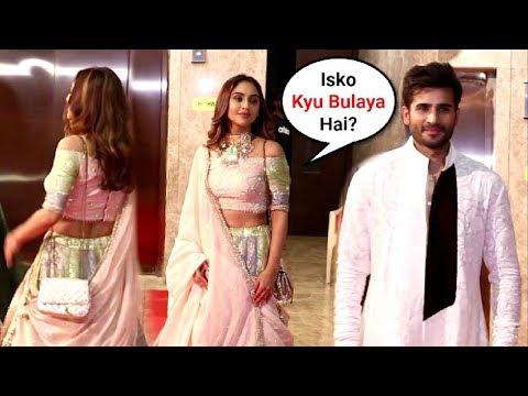Krystle D'souza Ignores Ex-Boyfriend Karan Tacker At Ramesh Taurani Diwali Party