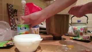 Приготовление хлеба в хлебопечке Panasonic.AVI