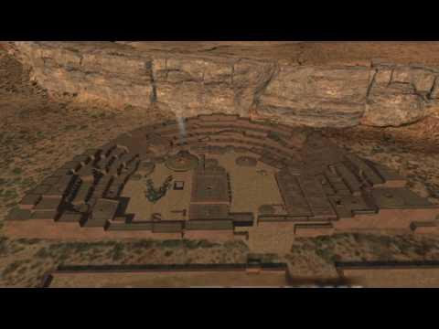 Pueblo Bonito, Chaco Canyon (Restored in 3D)