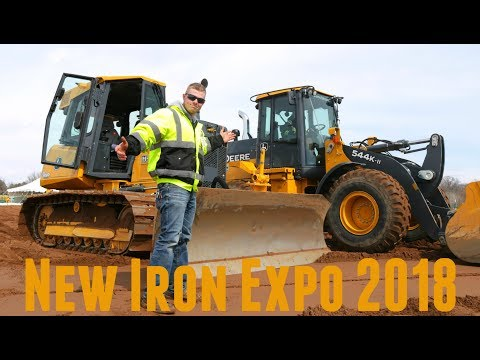 2018 Construction Equipment | Caterpillar Case John Deere Volvo