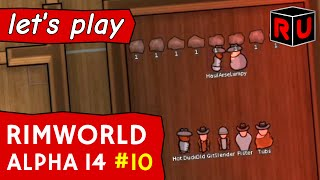 The Red Wedding: Winter really is coming! | Let's play RimWorld alpha 14 ep 10