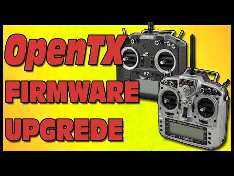 FrSky Taranis - OPENTX Firmware Update
