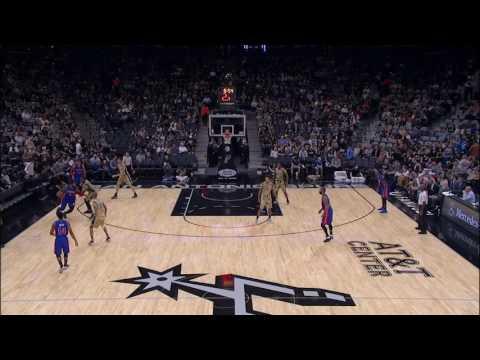 Detroit Pistons vs San Antonio Spurs   November 11, 2016   NBA 2015-16 Season