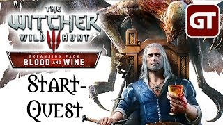 Thumbnail für THE WITCHER 3: BLOOD AND WINE Gameplay - Let's Show Witcher 3 Blood & Wine german / deutsch