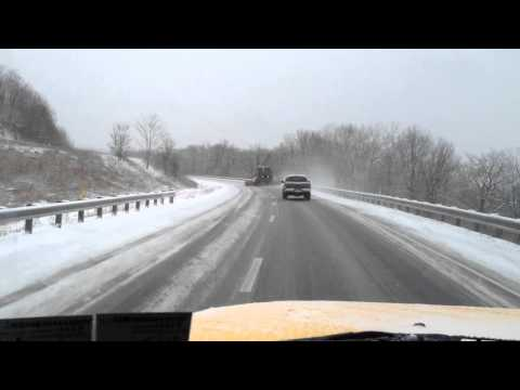 Accident on Rt 322 above Clearfield PA