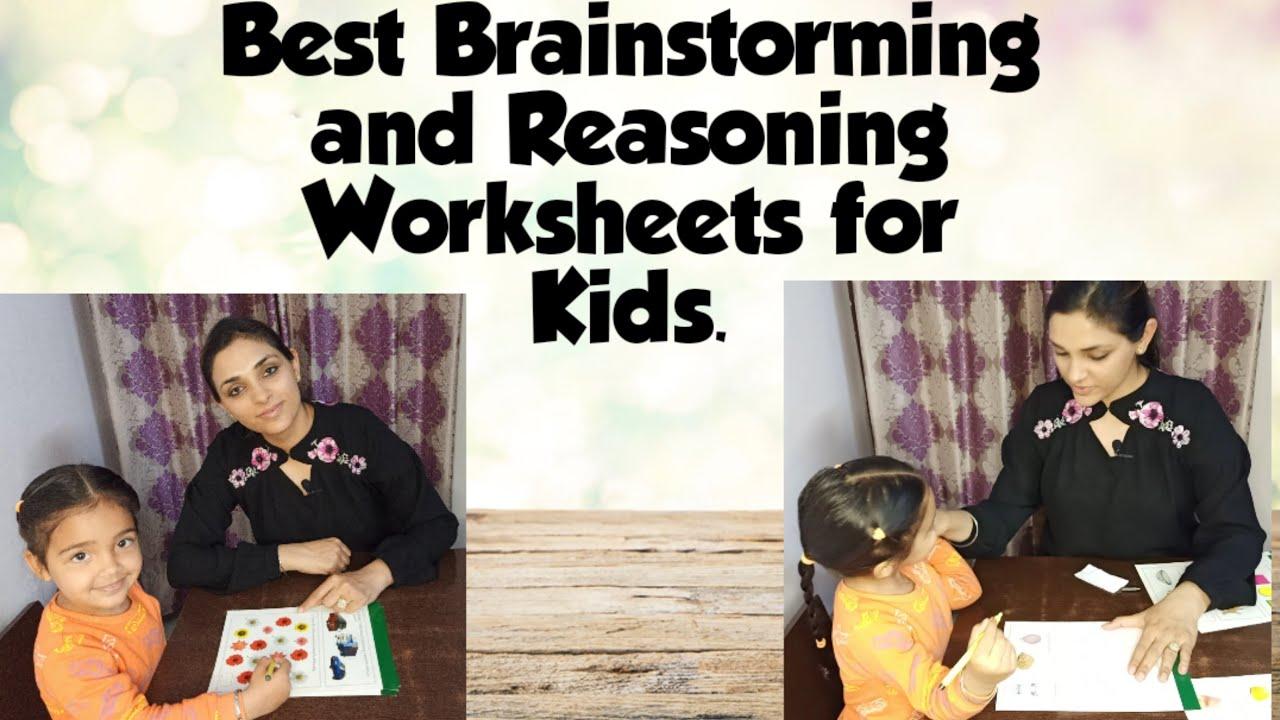 Best Brainstorming & Reasoning Worksheets for kids