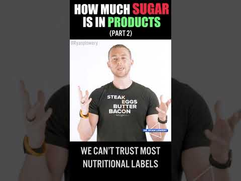 Sugar in Products | Part 2 |  #Shorts