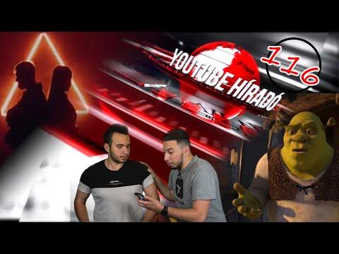 Shrek vissza a jövőből?! - YouTube híradó 116. adás thumbnail