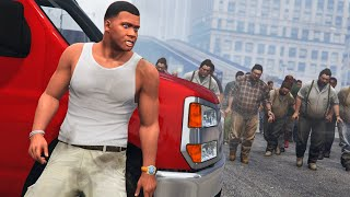 GTA 5 - SAVE Los Santos from a ZOMBIE Outbreak!