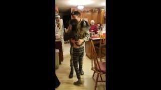 Soldier Surprises Grandmother on Christmas Eve - 985780