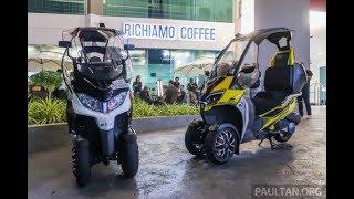2018 Adiva AD1 200 and AD2 400 three-wheelers coming to Malaysia