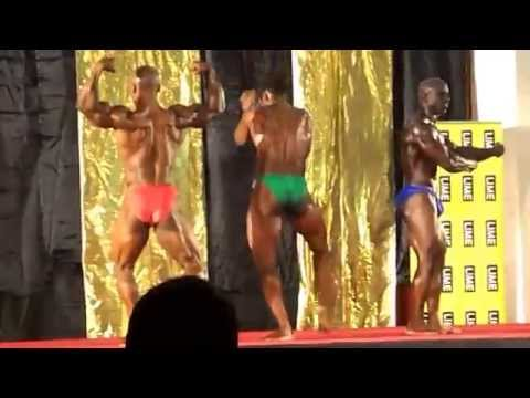 Antigua and Barbuda Body Building 2013