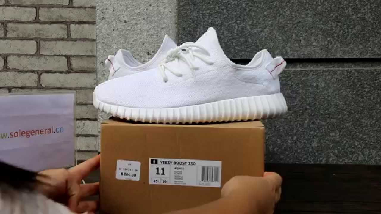 "00a90b650 Adidas Yeezy 350 Boost ""Beluga"" HD Review From solegeneral.cn - YouTube"