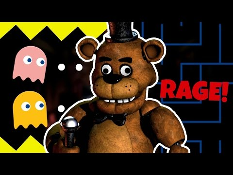 SO MUCH RAGE!! | Five Nights At Freddy's PACMAN