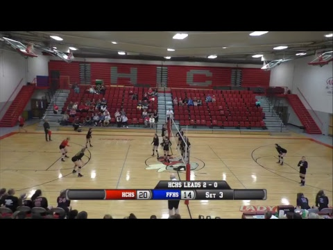 Volleyball - Hancock vs Cloverport
