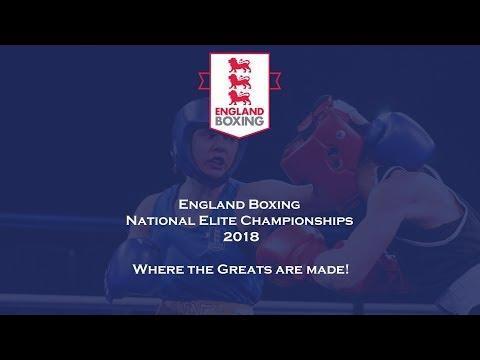 England Boxing National Elite Championships 2018 Semi Finals - Ring B