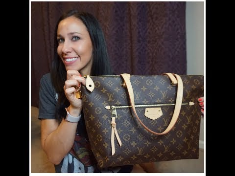 LOUIS VUITTON IENA MM FIRST IMPRESSIONS | COMPARED TO NEVERFULL