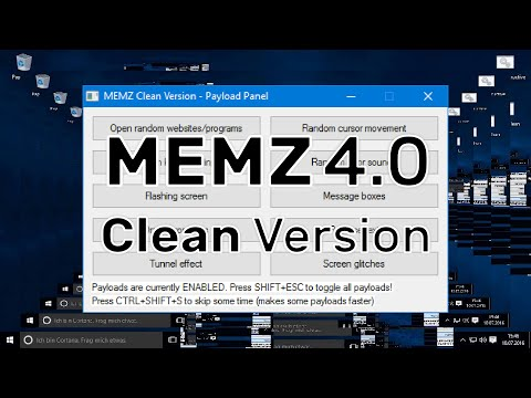 MEMZ 4.0 - The clean version (including download)