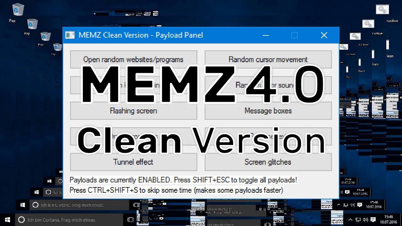 Memz 4 0 The Clean Version Youtube