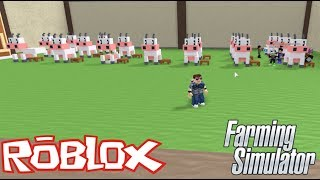 ROBLOX - I become a Farmer - FARMING SIMULATOR