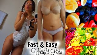 Fast & Easy WEIGHT LOSS TIPS | Lose 10 Pounds in a Week?