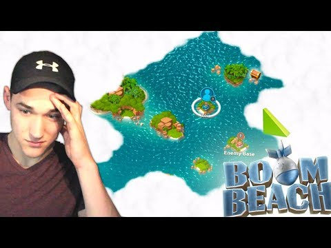 Restarting in Boom Beach... Low Level Gameplay!