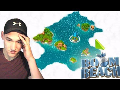 Restarting in Boom Beach... Low Level Gameplay!