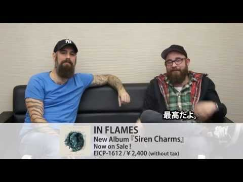 "IN FLAMES ""KNOTFEST JAPAN 2014""-激ロック 動画メッセージ"