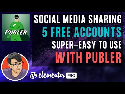 Get 5 Free Accounts to share Social Media Posts with Publer - Super Easy to Use and Schedule Posts