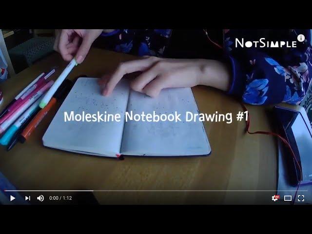 Moleskine Notebook Drawing #1