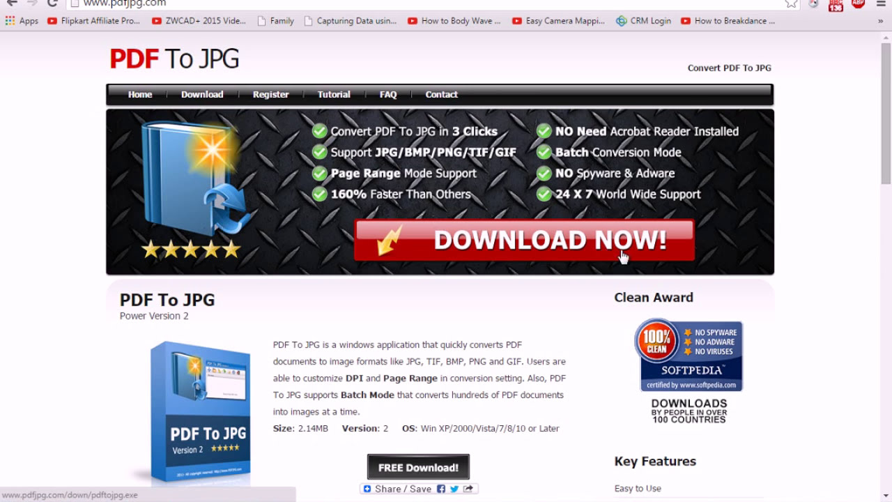 how to PDF to JPG Converter - YouTube