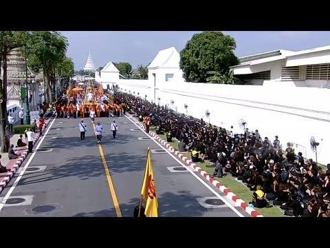 Thailand Holds Royal Cremation Ceremony in Bangkok for Former King Bhumipol Adulyadej