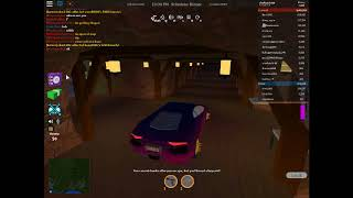 Playing roblox jailbreak with my friend Deadwoodx and glitching through walls.