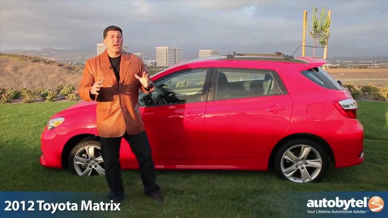 2012 Toyota Matrix Test Drive Car Video Review Youtube