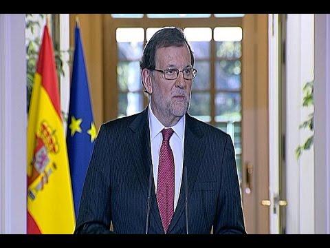 Rajoy reitera que no se puede celebrar un referéndum