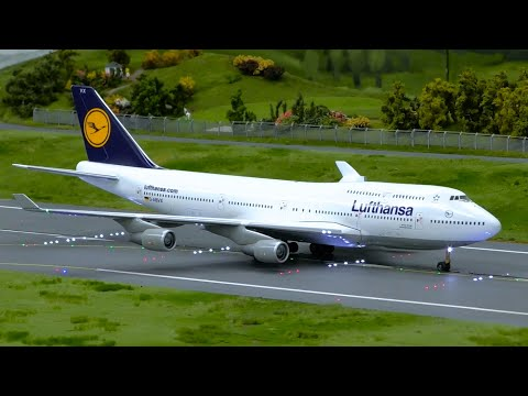 Plane Spotting At The Worlds LARGEST Model Airport | Miniatur Wunderland Hamburg