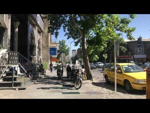Inside Iran - Travelling to Tehran  سفر به تهران