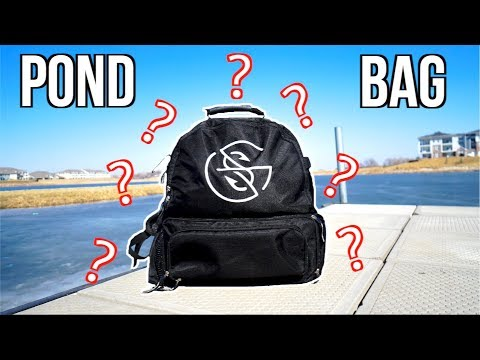 What's In My POND FISHING TACKLE BAG?!?!?!