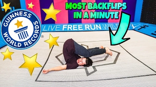 BREAKING TRAMPOLINE WORLD RECORDS!!! (NOT SAFE)