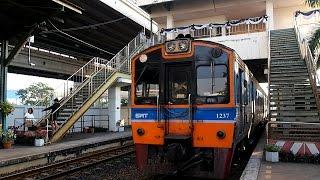 2016/12/11 【タイ国鉄】 気動車 ラートクラバン駅
