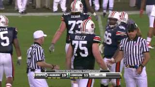 2011 BCS National Championship - #2 Oregon vs #1 Auburn