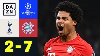 FCB im Torrausch! Spurs zerlegt: Tottenham - Bayern München 2:7 | UEFA Champions League | DAZN