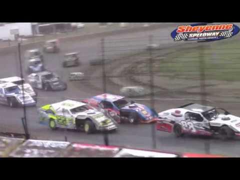 Sheyenne Speedway IMCA Modified A-Main (9/30/18)