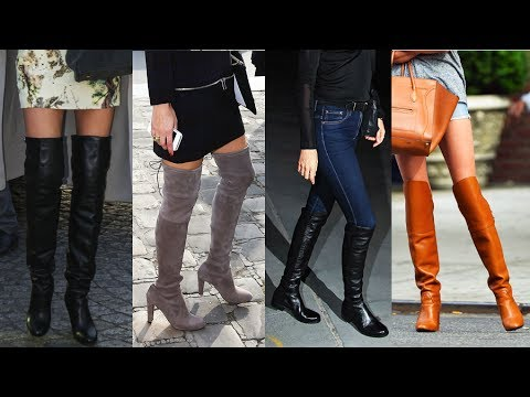 3b653904ad6 How to Wear Over-the-Knee Boots